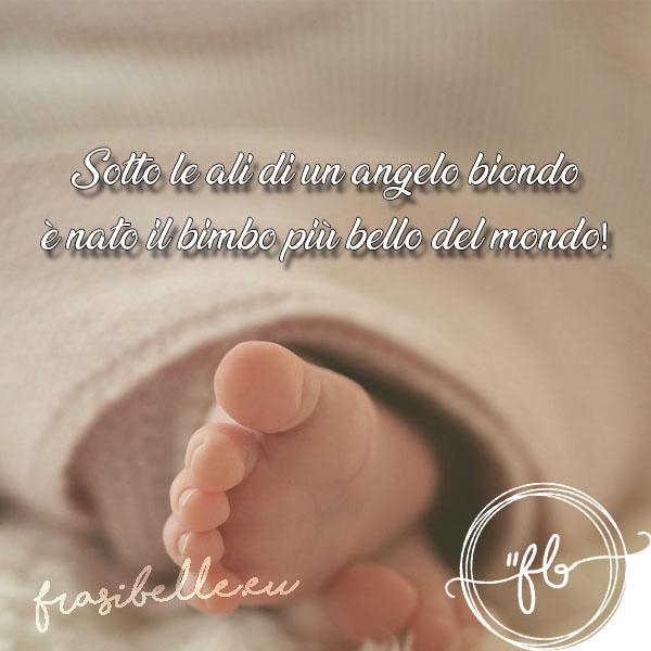 nascita frasi belle