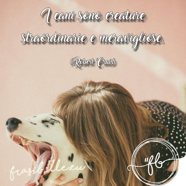frasi belle con i cani