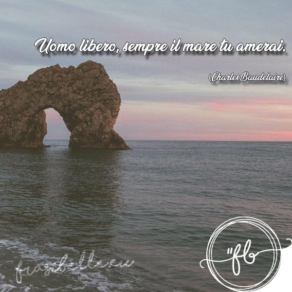 frasi belle sul mare al tramonto