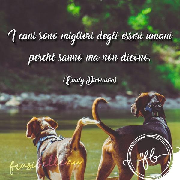 frasi sugli animali cani