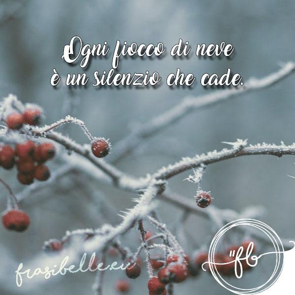 Frasi belle sulla neve: citazioni ed aforismi unici sullo strato bianco delle montagne 17