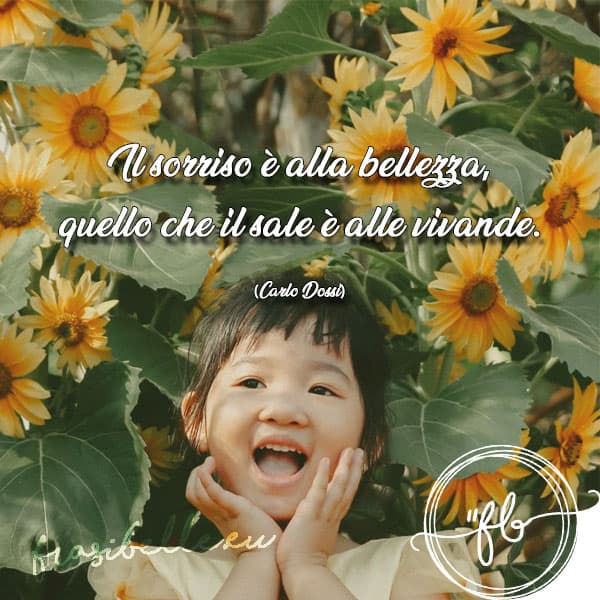 frasi belle sulla vita e sorriso